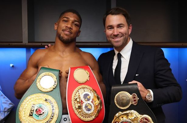 Hearn: Wilder Must Fight Joshua Next or We Might Miss The Boat