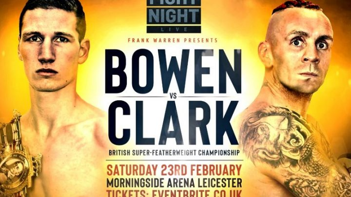 Nathan Gorman named chief support to Bowen v Clark on Feb 23