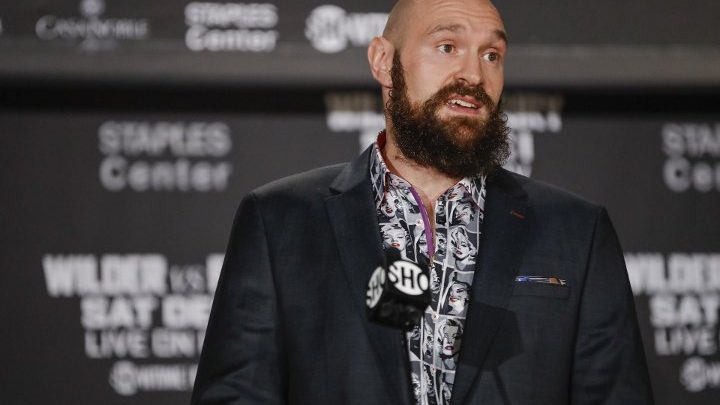 Tyson Fury Claims He Dropped Jarrell Miller 7 Times in Sparring