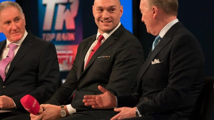 Tyson Fury's Coach Explains Why Schwarz is The Right Fight
