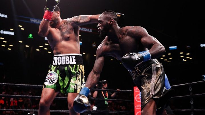 Whyte Holds Nose, Not Impressed By Wilder's KO of Breazeale