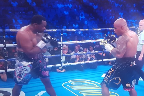 Dillian Whyte secures WBC mandatory position & Interim title beating Oscar Rivas after getting dropped