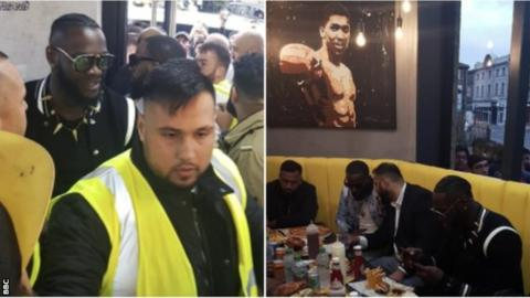 Wilder opens takeaway in Batley – then vows to 'get rid' of Ortiz and Fury