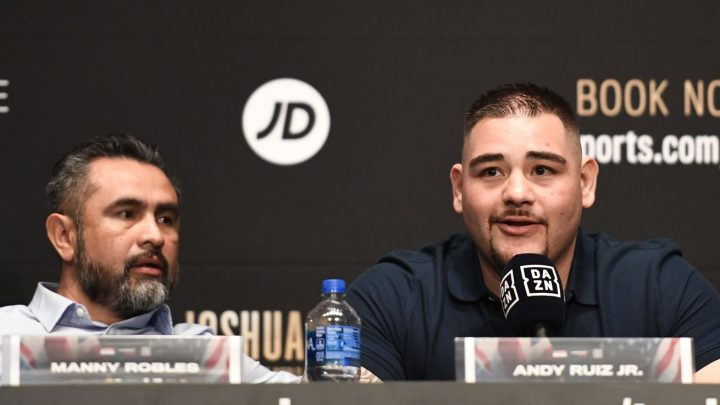 Robles: Ruiz not in great shape but we have enough time