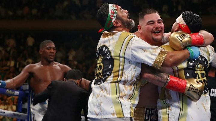 Manny Robles responds to Anthony Joshua's comments on Andy Ruiz's 'luck'