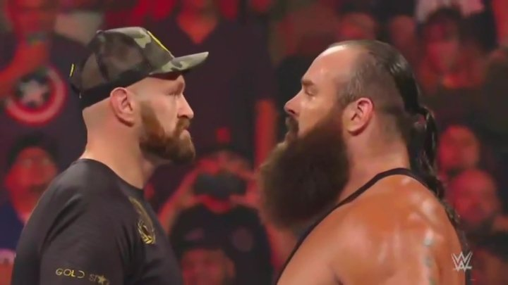 Tyson Fury-Braun Strowman Official For October 31, Crown Jewel