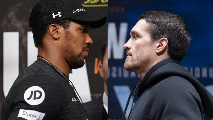 Joshua Excited To See Usyk Move Up, He'd Be Eager To Fight