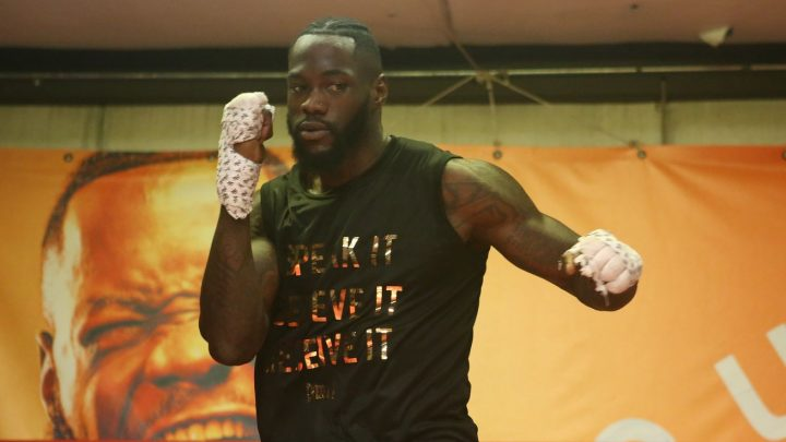 Wilder: My mindset is way stronger than Joshua's