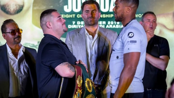 Andy Ruiz enters crunch time in training for Anthony Joshua rematch