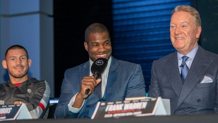 Daniel Dubois Inks Five-Year Contract Extension With Warren
