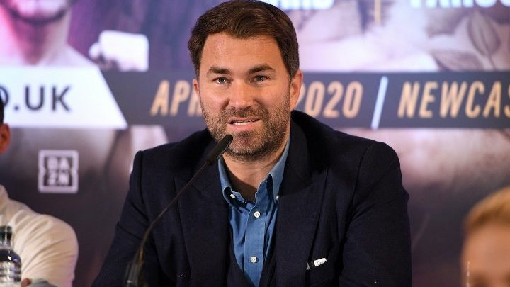 Hearn: Joshua-Fury Can Be Done in Two Minute Call With Arum, MTK