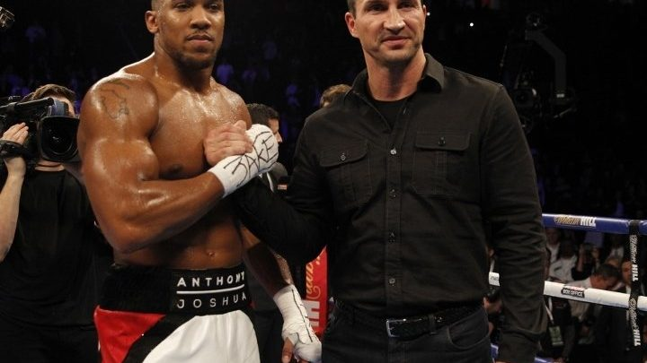 Klitschko Backing Joshua To Unify The Heavyweight Division