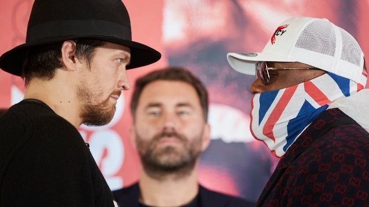 Joshua: Chisora From Two Fights Back Will Give Usyk Problems