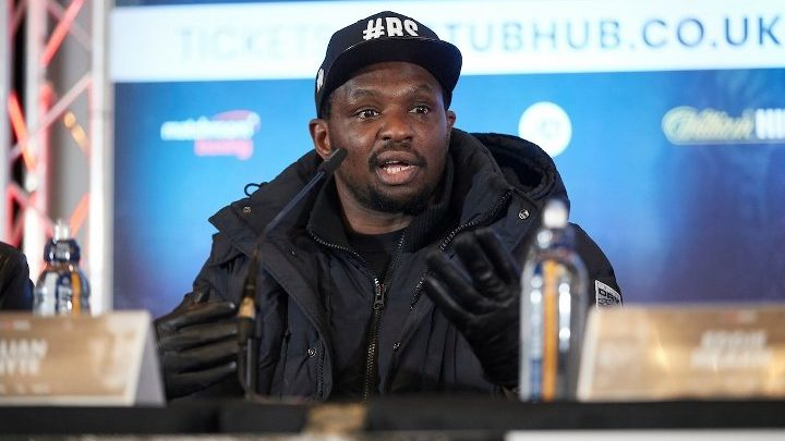 Dillian Whyte's WBC Title Shot Will Not Be Delayed, Says Hearn
