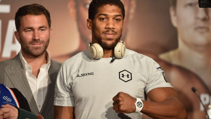Hearn hoping for crowd for Joshua-Pulev, but ready go to in December without
