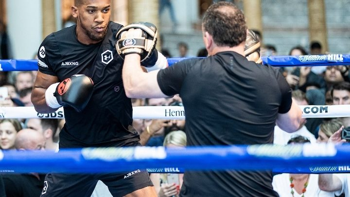 Anthony Joshua Will Have 'Spot On' Sparring For Pulev, Says Hearn