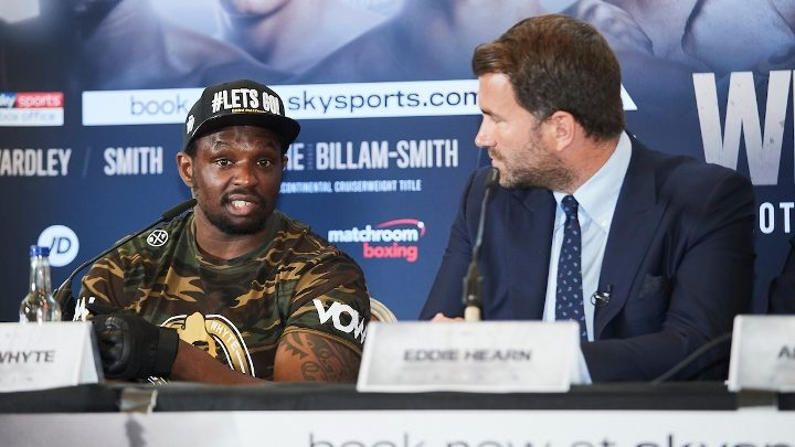 Hearn: Fury-Wilder Trilogy Must Happen in 2020 – Or Fury Faces Whyte!