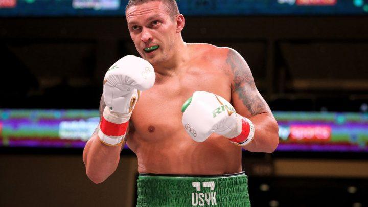 Usyk 'in Joshua's head' ahead of Chisora fight