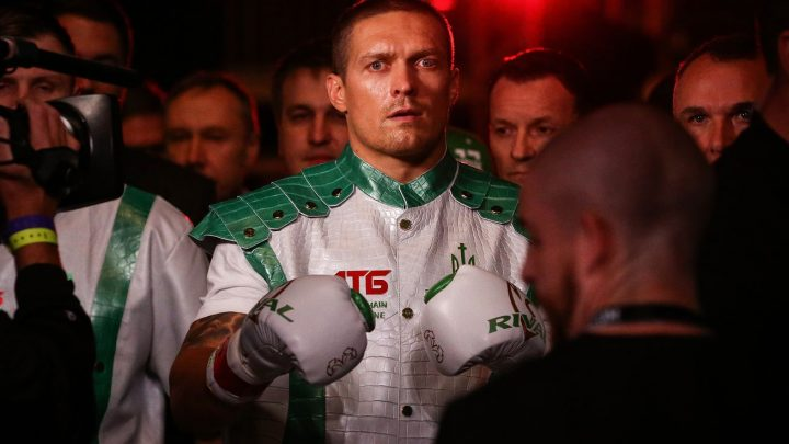Usyk enters negotiations to face Joyce for interim belt