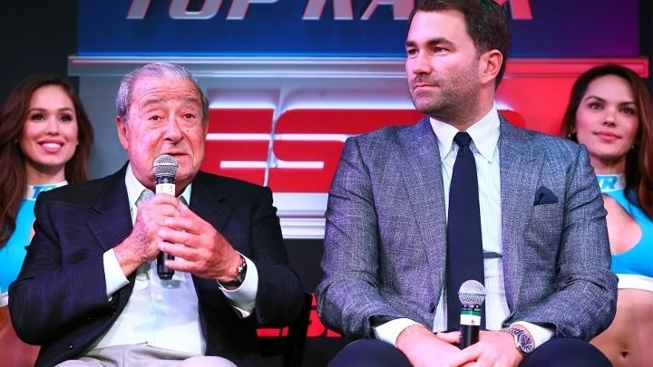 Arum: Hearn Should Look In Mirror; He Screwed Everything Up With Fury-Joshua Deal