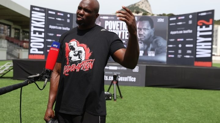 Whyte's Return Looking More Likely For September, Possible For Canelo Card
